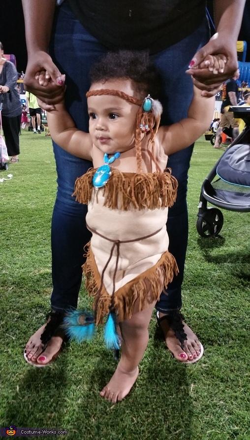 Pocahontas Baby Costume