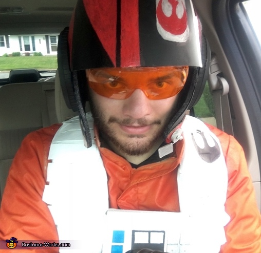 Stay on target!, Poe Dameron X-Wing Flight Suit Costume