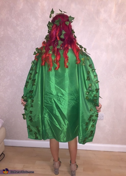 Cloak, Poisin Ivy Costume