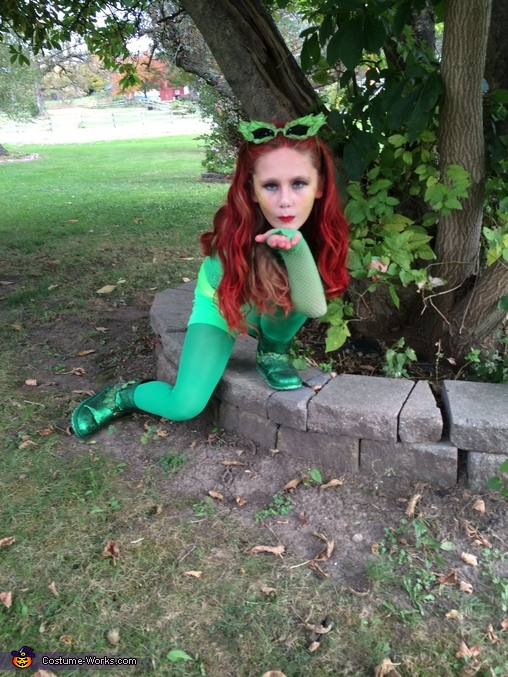 Poision Ivy Homemade Costume