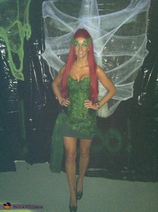 Poison Ivy Halloween Costume Idea