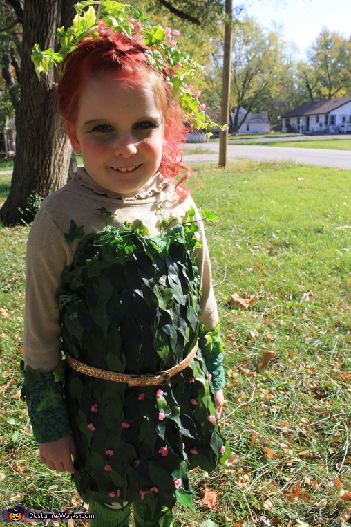 Poison Ivy Costume  sc 1 st  Costume Works & Creative Poison Ivy Costume for a Girl