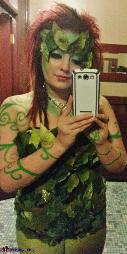 bodice, Poison Ivy Costume