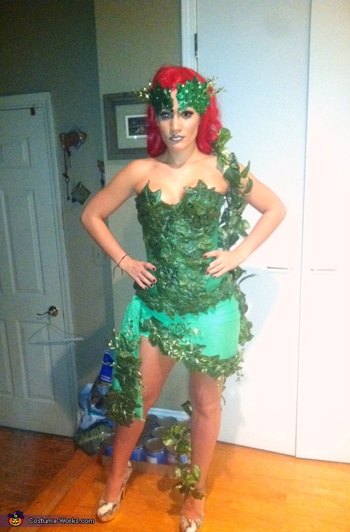Diy Poison Ivy Costume Idea For A Women