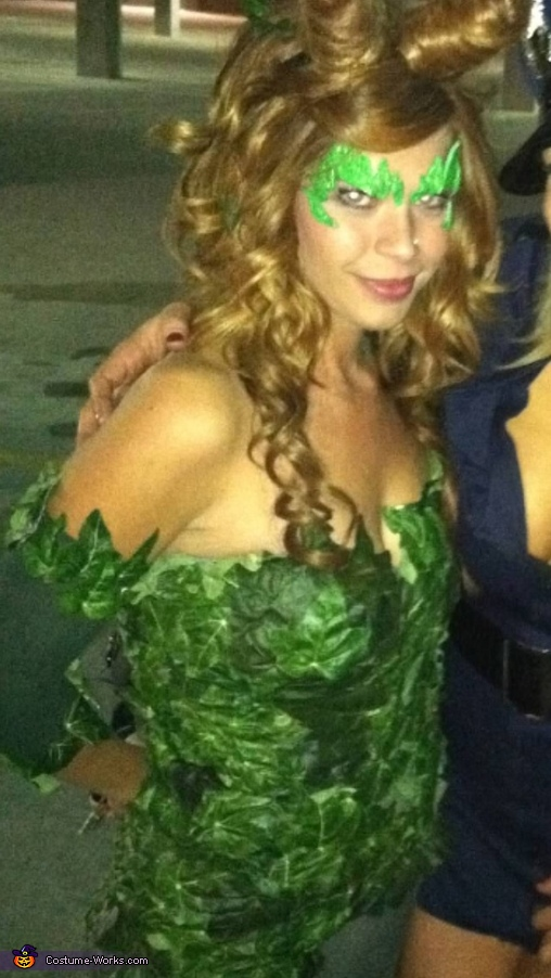 Close up, Poison Ivy Costume