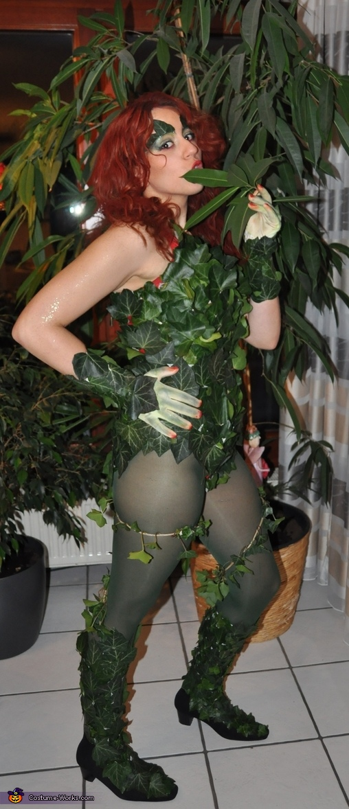 Poison Ivy Homemade Costume