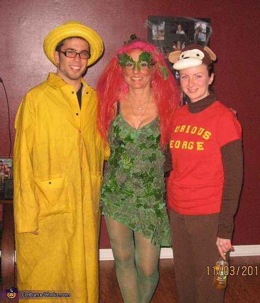 Poison Ivy Costume. Poison Ivy meets Curious George  sc 1 st  Costume Works & Original DIY Poison Ivy Costume