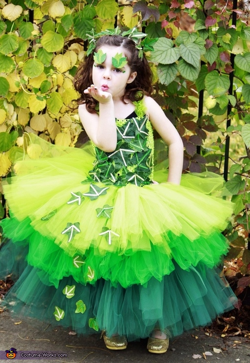 Poison Ivy Costume  sc 1 st  Costume Works & Poison Ivy Costume for a Girl