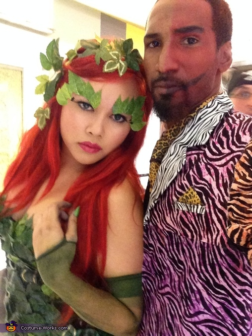 Poison Ivy & Two Face, Poison Ivy Costume