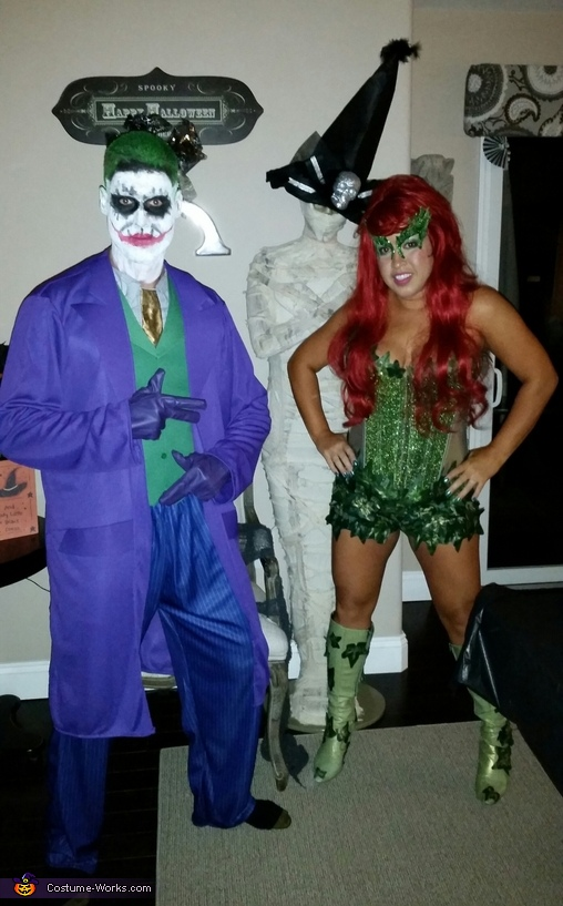 Poison Ivy and Joker Costume