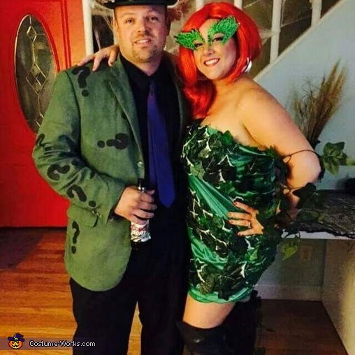 Poison Ivy and the Riddler Costume