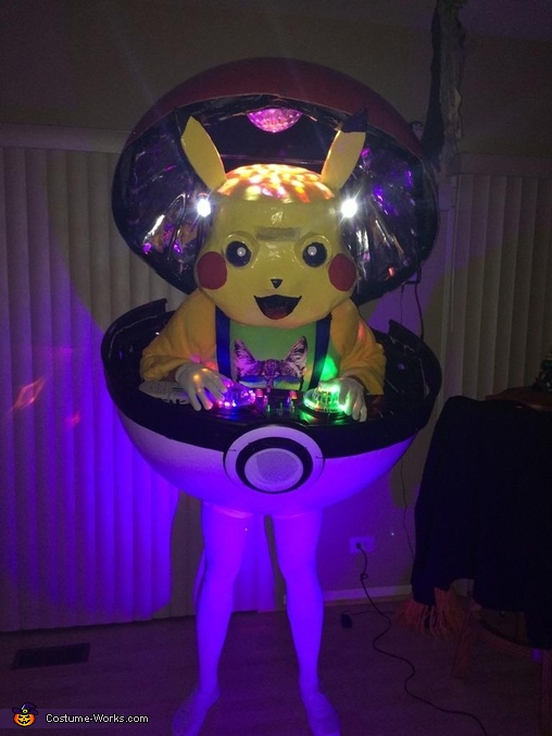 Pokemon DJ Pikachu Costume