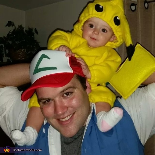 how to make a homemade pokemon costume