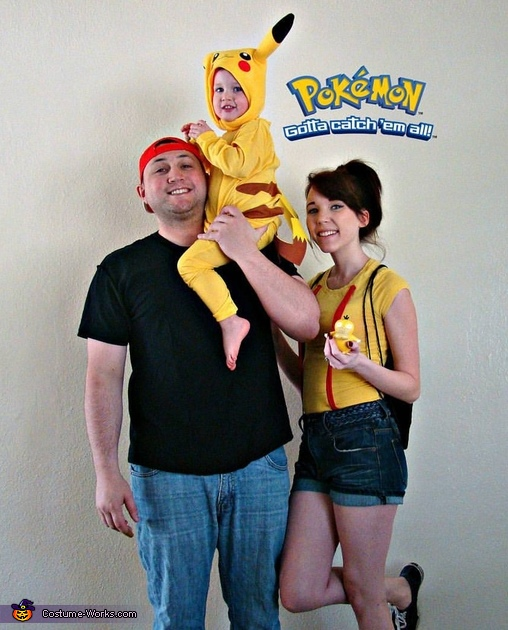 Pokemon Family Halloween Costume