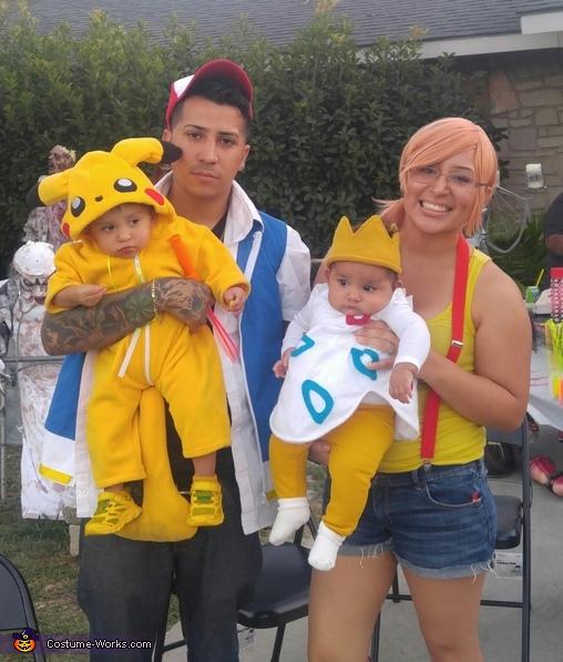 Pokemon Family Costume