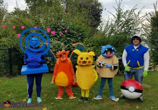 Pokemon Go Family Costume