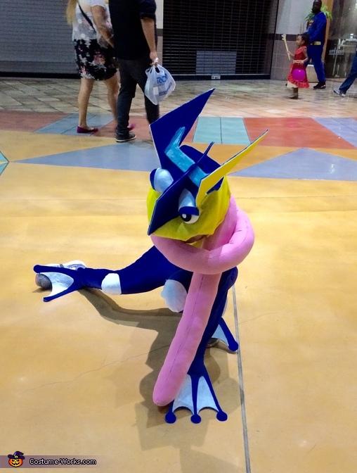 Pokémon Greninja Costume