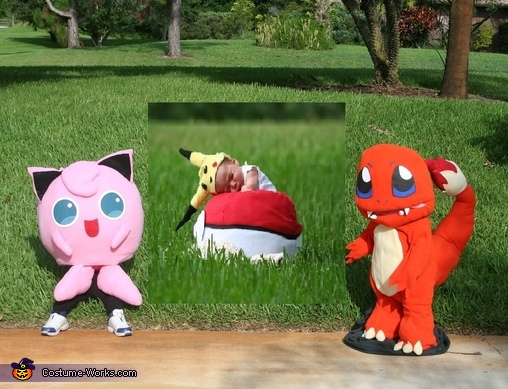 Pokemon Group Costume