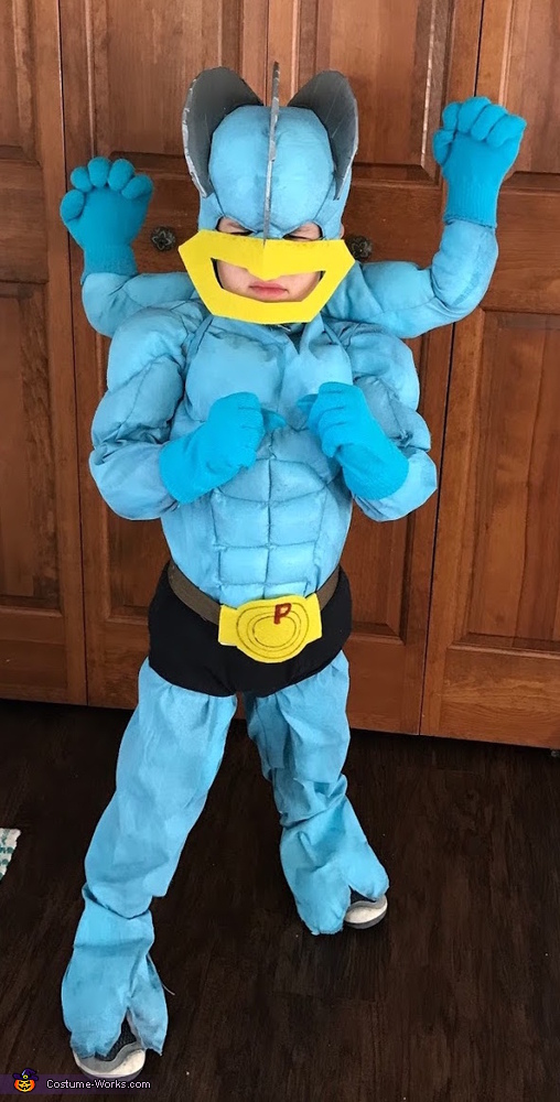 Pokemon Machamp Costume