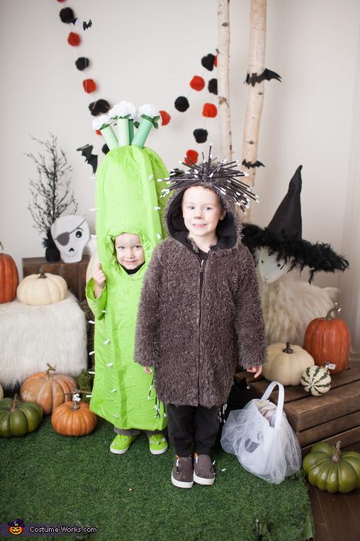 Pokey Porcupine and Cactus kids, Pokey Porcupine and Cactus Duo Costume