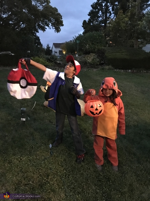 Pokémon Family Homemade Costume