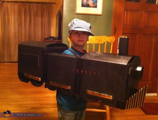 Polar Express Train Costume