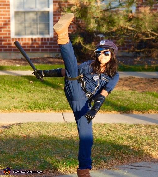 Police Officer Girl's Costume