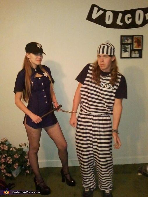 Diy prisoner costume ideas clublifeglobal police officer and prisoner couple costume solutioingenieria Images