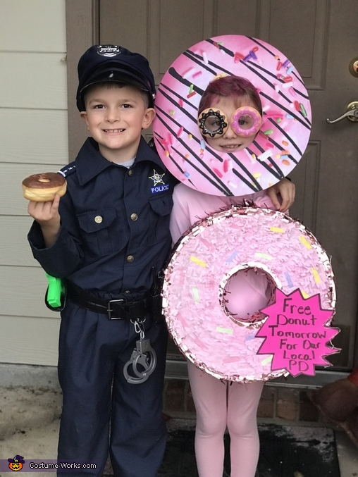 Police Officer & Donuts Costume