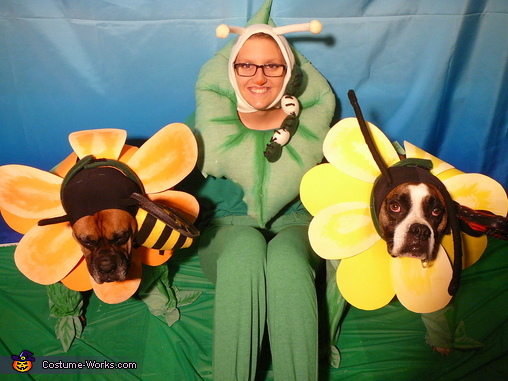 Pollination or Pawlination Homemade Costume