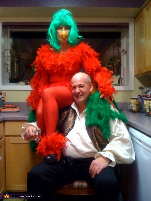 Polly the Parrot Costume