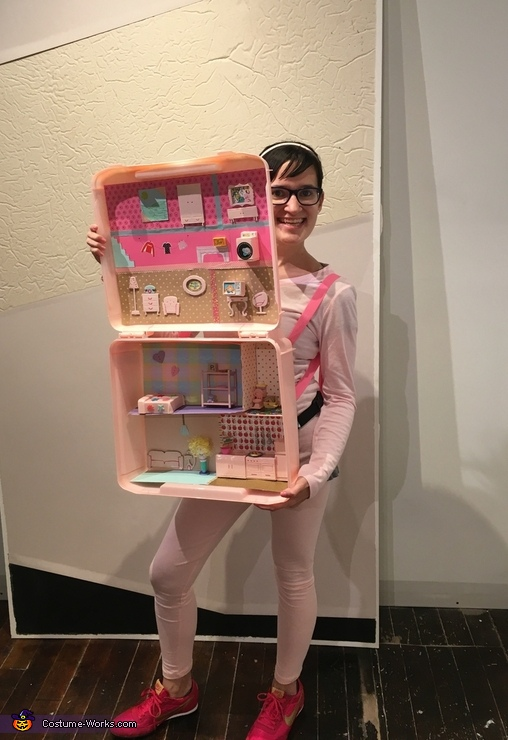 Polly Pocket Compact Homemade Costume