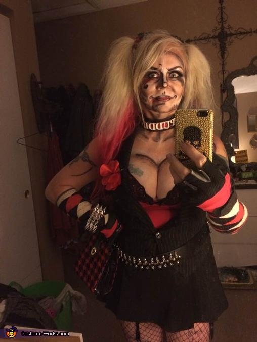 Pop Art Comic Harley Quinn Homemade Costume