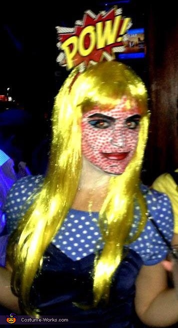 Pop Art / Lichtenstein Girl Costume
