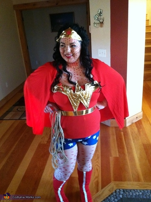 Pop Art Wonder Woman Costume