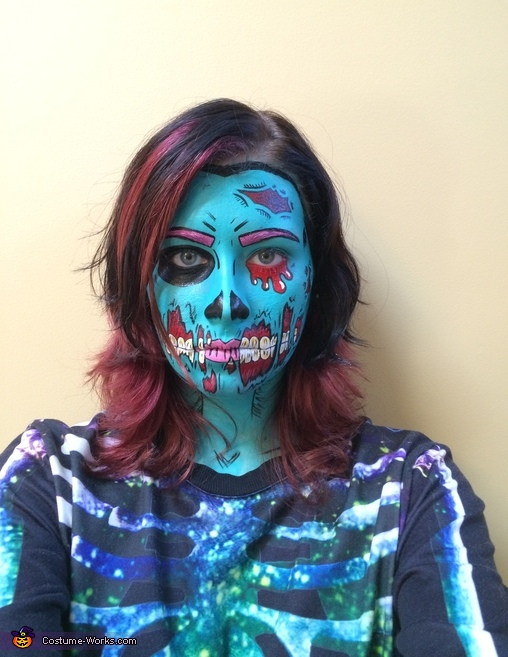 Pop Art Zombie Costume