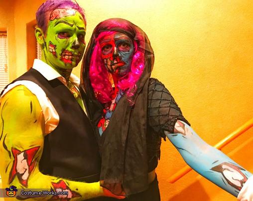 Pop Art Zombies Costume