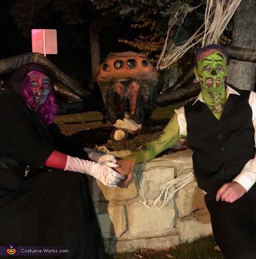 Pop Art Zombies Homemade Costume