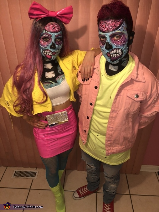 Popart Zombies Homemade Costume