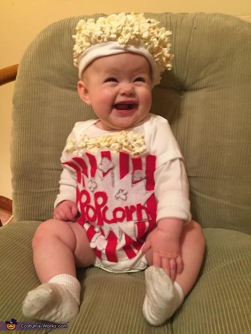 Popcorn Baby Costume