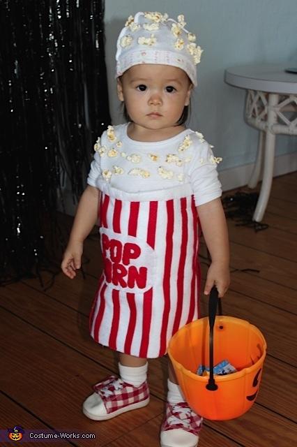 Waking Popcorn Costume