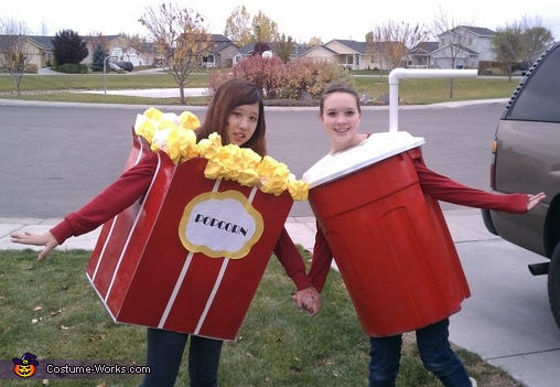 Popcorn and Soda Costume