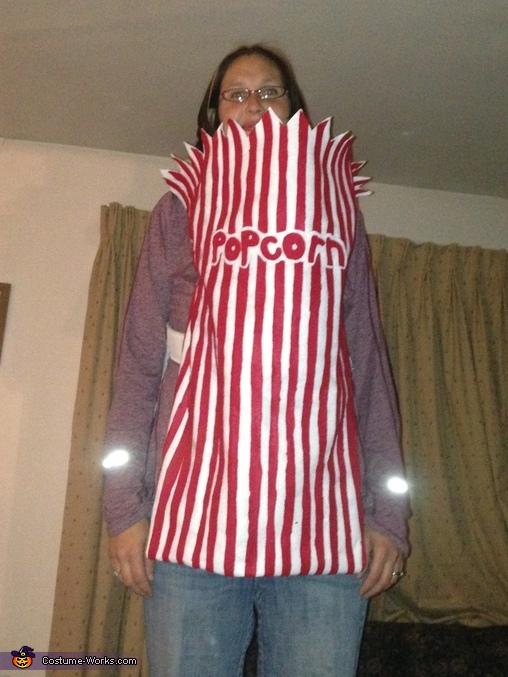 Popcorn bag, Popcorn Baby Costume