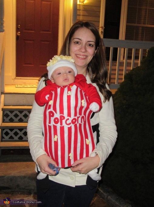 Popcorn Box Costume