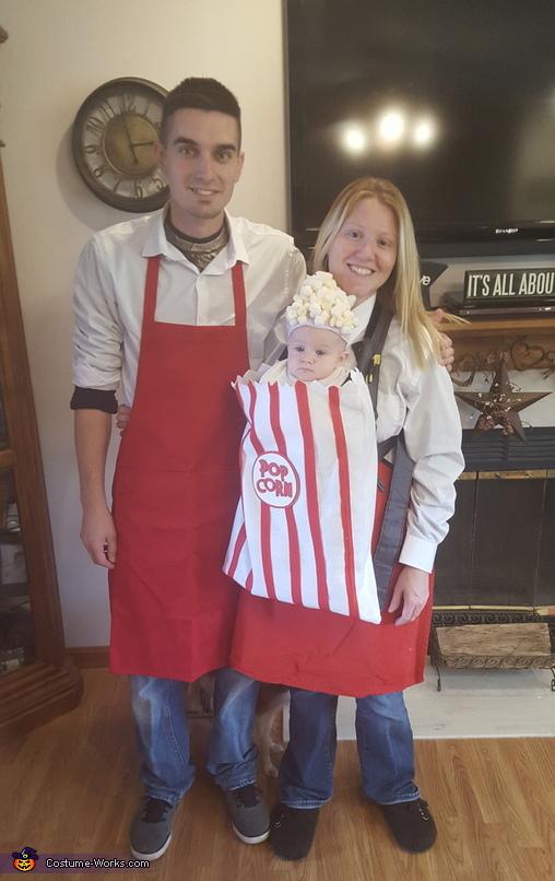 Popcorn Vendors Costume