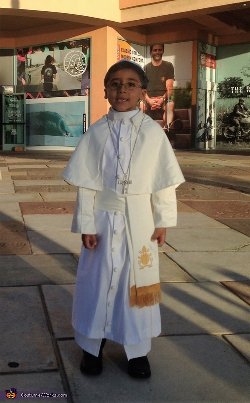 Pope Francis Costume