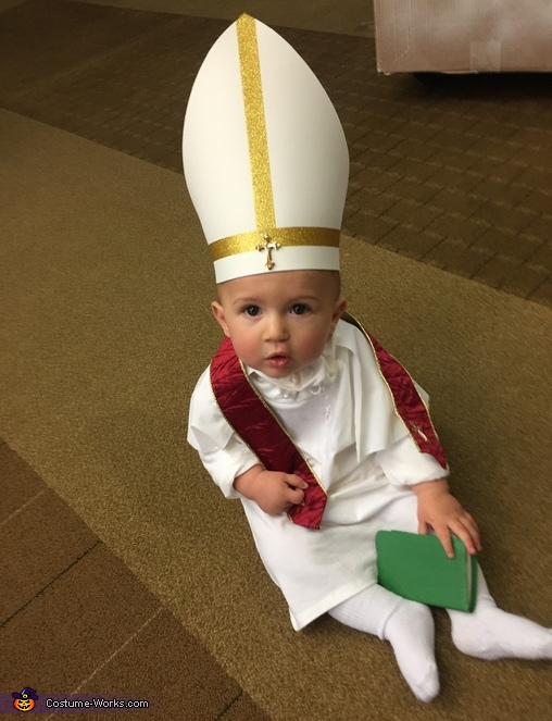 Pope Francis Baby Costume