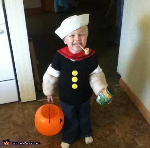 Popeye - Homemade costumes for babies