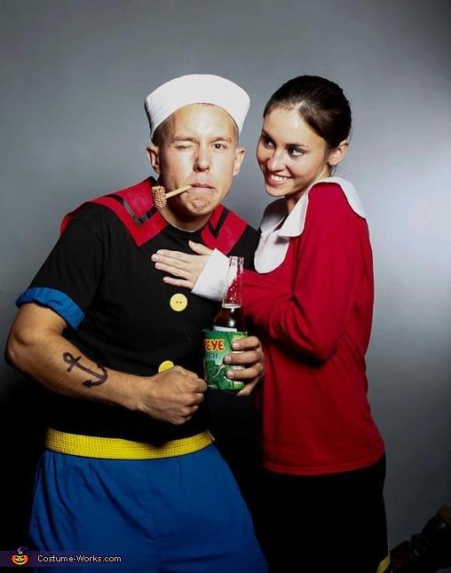 Popeye and Olive Costume