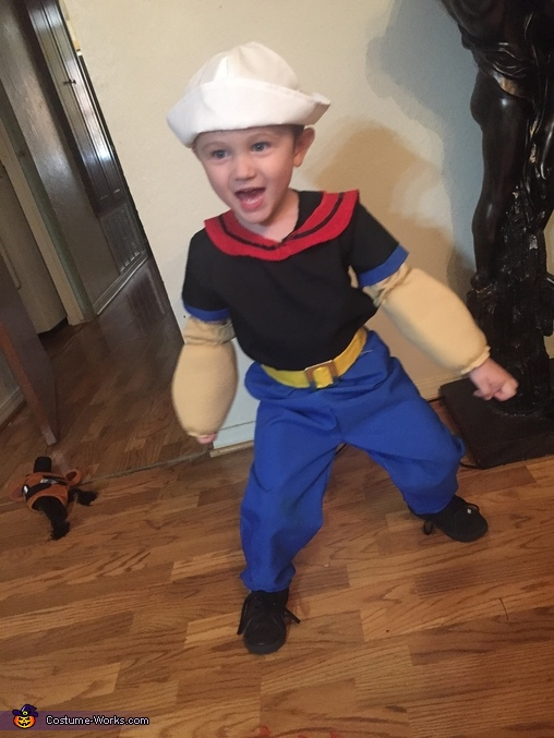 Popeye the Sailor Costume